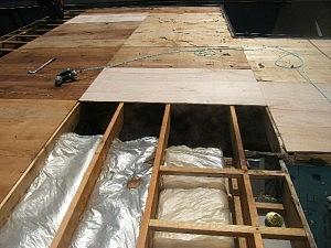 下地木材の張替状況